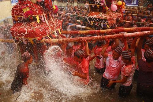 جشنواره توکا بیسکت در کاتماندو نپال