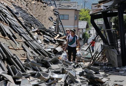 خسارت زلزله در ژاپن
