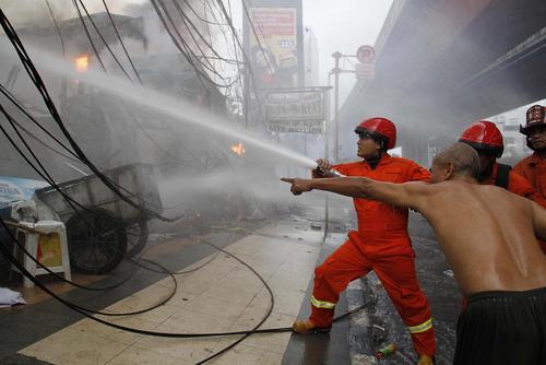 اطفاء حریق – جاکارتا اندونزی
