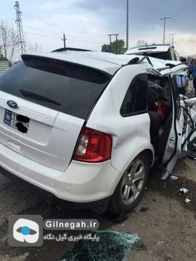عکس تصادف مرگبار عکس تصادف دلخراش حوادث گیلان حوادث رشت اخبار گیلان اخبار رشت