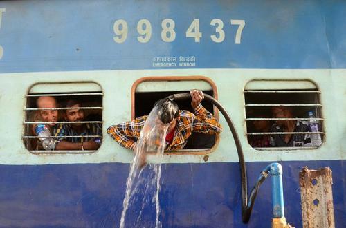 گرمای هوا در الله آباد هند