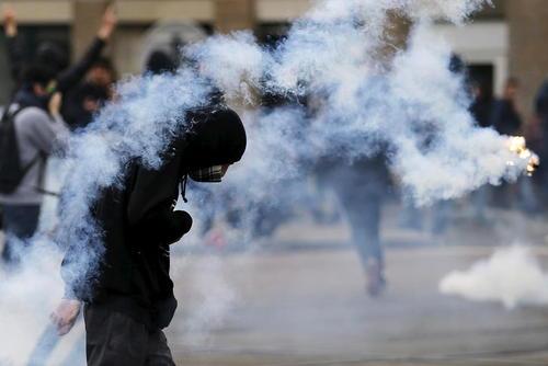 تظاهرات علیه اصلاح قانون کار فرانسه – شهر نانت