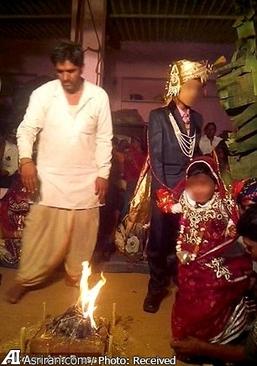 ازدواج اجباری کودکان در هند