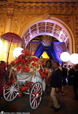 برگزاری عروسی 10 میلیون یورویی زوج ثروتمند هندی در هتل پالاس آنتالیا