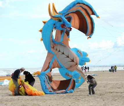 سی و ششمین جشنواره بین المللی کایت در ایتالیا