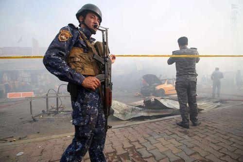 انفجار انتحاری در شرق بغداد