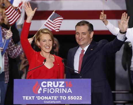 تد کروز یکی از نامزدهای جمهوریخواه برای انتخابات ریاست جمهوری آمریکا خانم کارلی فیورینا یکی از نامزدهای سابق جمهوریخواهان را به عنوان گزینه معاونت خود معرفی کرد – ایندیاناپولیس