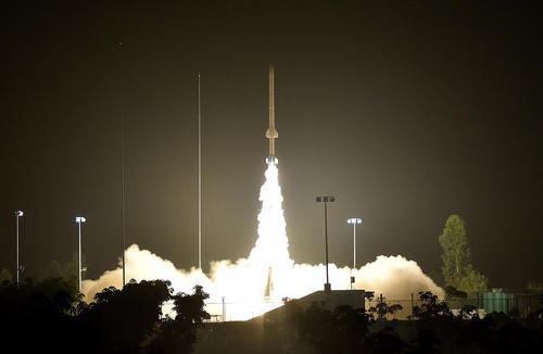 پرتاب ماهواره تحقیقاتی چین به فضا