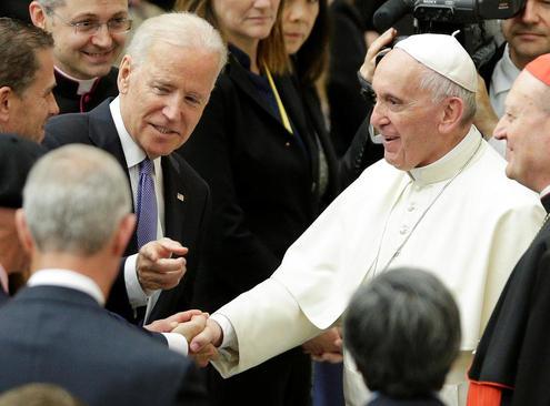 سفر جو بایدن معاون رییس جمهوری آمریکا به واتیکان و دیدار با پاپ