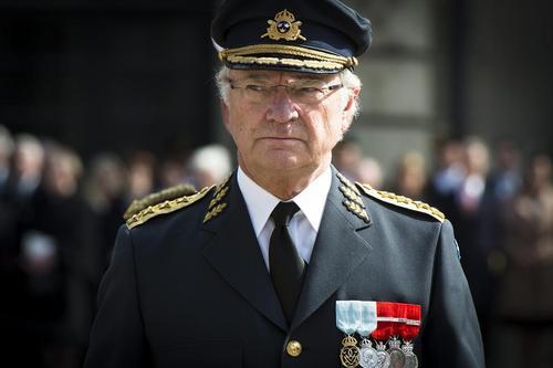 پادشاه سوئد در جشن تولد خود – استکهلم