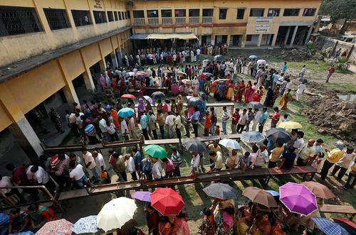 انتخابات مجلس ایالتی در کلکلته هند