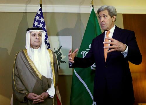 دیدار وزرای امور خارجه آمریکا و عربستان در ژنو سوییس