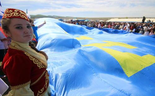 جشن بهاره تاتارهای شبه جزیره کریمه