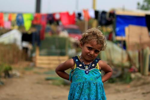 اردوگاه آوارگان جنگی سوریه در روستای  ظهرانی در جنوب لبنان