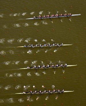 مسابقات قهرمانی قایقرانی اروپا در دریاچه براندنبورگ آلمان