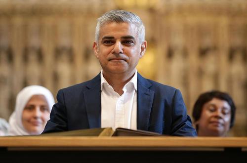 مراسم تحلیف صادق خان شهردار جدید لندن