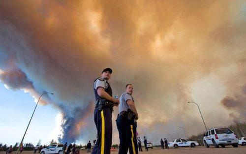 آتش سوزی جنگل ها در ایالت آلبرتا کانادا