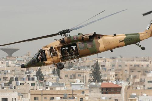 رزمایش ضد ترور نیروهای مسلح اردن – امان