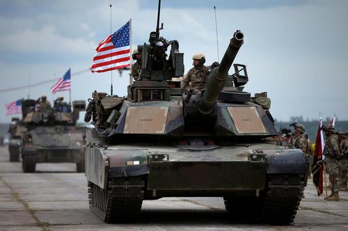 حضور نیروهای آمریکایی در یک رزمایش مشترک ناتو در منطقه وازیانی گرجستان
