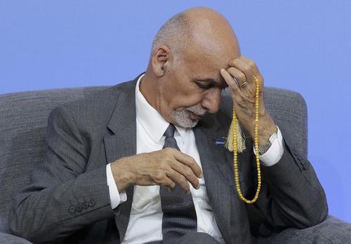 محمد اشرف غنی رییس جمهوری افغانستان در اجلاس جهانی مبارزه با فساد در لندن