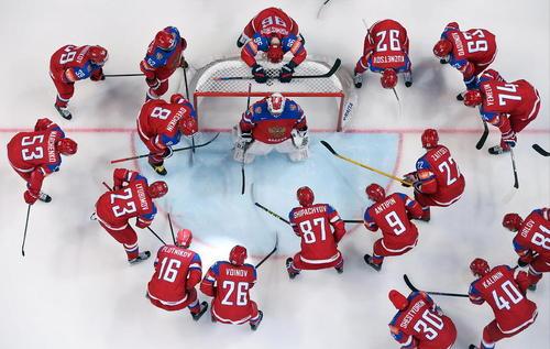 شکست 3 بر صفر تیم هاکی روی یخ نروژ از تیم روسیه در جام جهانی این رشته ورزشی در مسکو