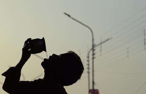 گرما و کم آبی در هند- شهر الله آباد