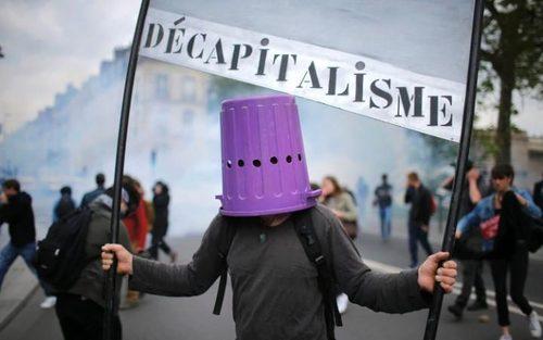 تظاهرات علیه اصلاح قانون کار در شهر نانت فرانسه