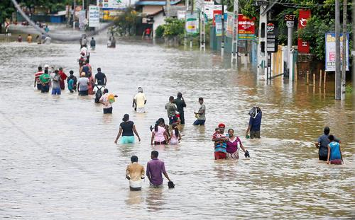 سیل در سری لانکا