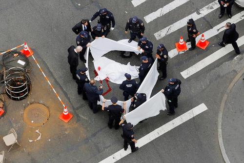 تیراندازی و کشته شدن یک مرد در محله منهتن نیویورک
