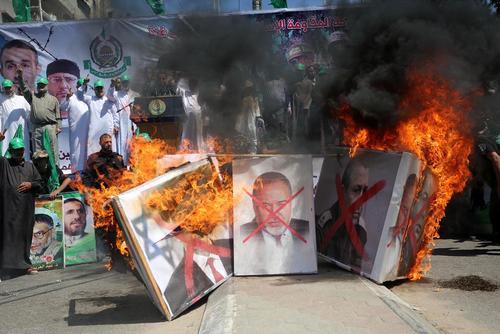 مراسم شصت و هشتمین سالگرد روز نکبت از سوی حماس در غزه