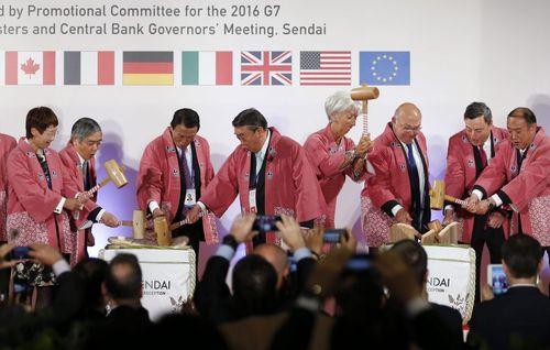 اجلاس وزرای اقتصاد 7 کشور صنعتی جهان و رییس صندوق بین المللی پول – ژاپن