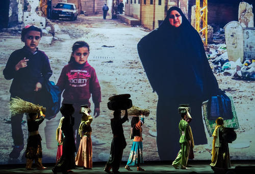 افتتاحیه نشست بین المللی کمک های بشردوستانه با حضور سران 60 کشور در شهر استانبول ترکیه
