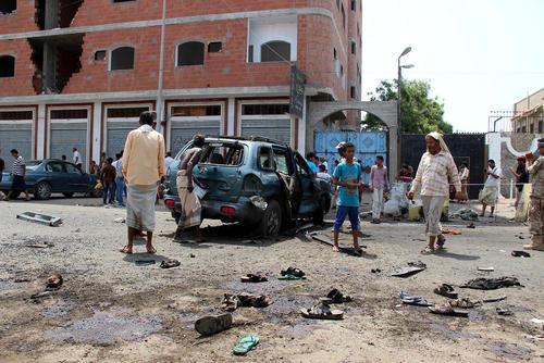 حمله تروریستی داعش به بندر عدن در جنوب یمن