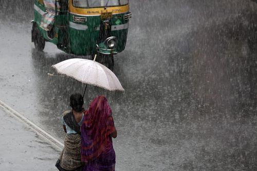 بارش شدید باران – کلکته هند