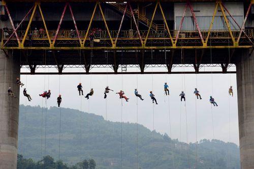 برگزاری مانور امداد و نجات – چونگینگ چین