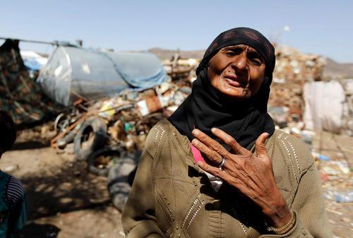آوارگان جنگی در یمن