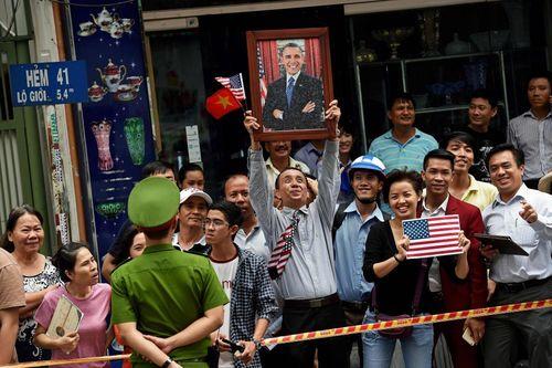 حواشی سفر اوباما به شهر هوشی مینه ویتنام