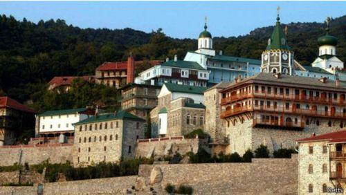 کوه آتوس مکان ۲۰ کلیسای ارتدوکس است