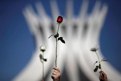 تظاهرات علیه خشونت و تجاوز جنسی به زنان – پایتخت برزیل
