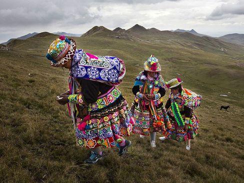 زنان بومی پرویی