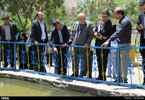 شهرک رضویه تهران حوادث واقعی حوادث تهران پارک کوهسار اخبار تهران آبنمای پارک کوهسار