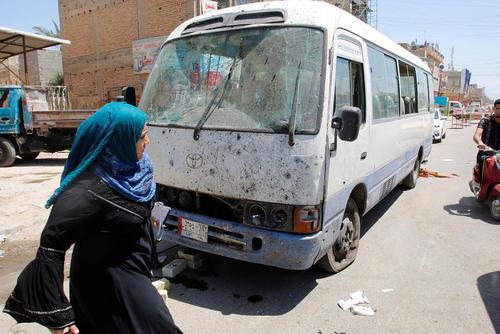 بمبگذاری داعش در منطقه شیعه نشین شعب در بغداد