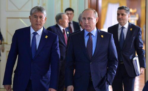 رییس جمهور روسیه در اجلاس سالانه اتحادیه اقتصادی اوراسیا در آستانه قزاقستان