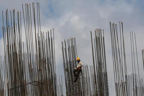 یک پروژه ساختمانی در پنوم پن کامبوج
