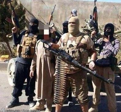 اولین تصویر منتشره از این تروریست داعشی در ژوئن 2014