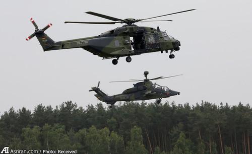 هلیکوپتر نظامی ارتش آلمان NH 90