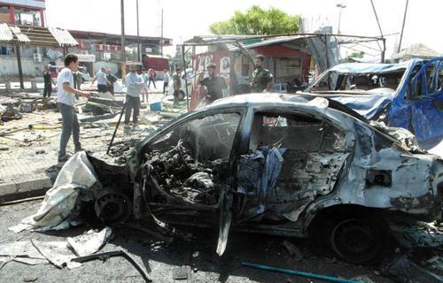 انفجارهای تروریستی در شهر جبله سوریه که دهها کشته و زخمی برجای گذاشت و داعش آن را برعهده گرفت
