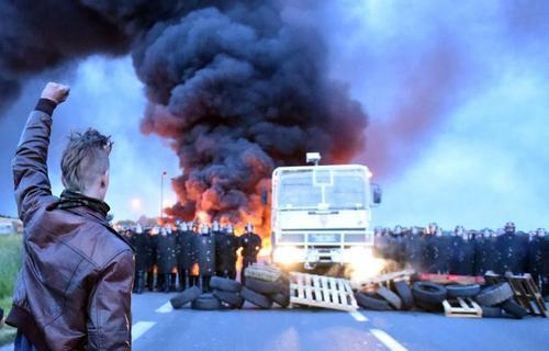 اعتراضات کارگری در فرانسه