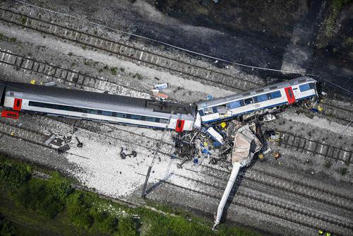 سانحه قطار در بلژیک