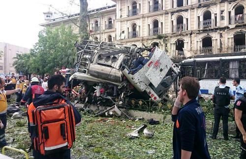 11 کشته و 35 زخمی در حمله تروریستی به استانبول ترکیه